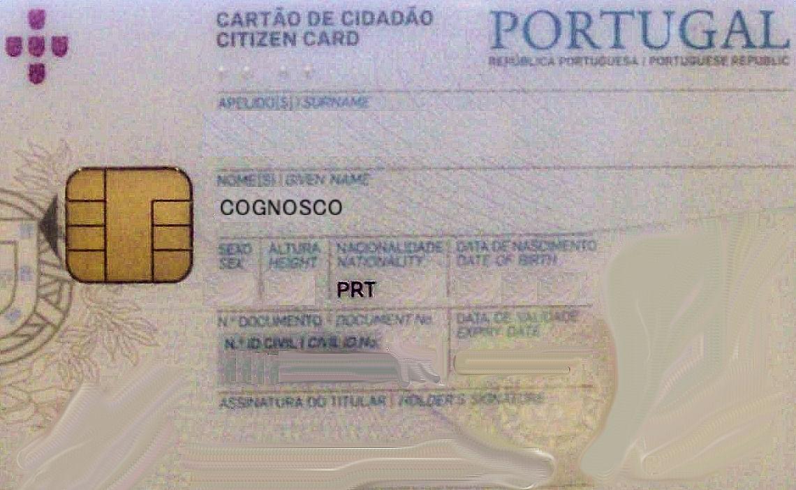 Resultado de imagem para cartão de cidadão